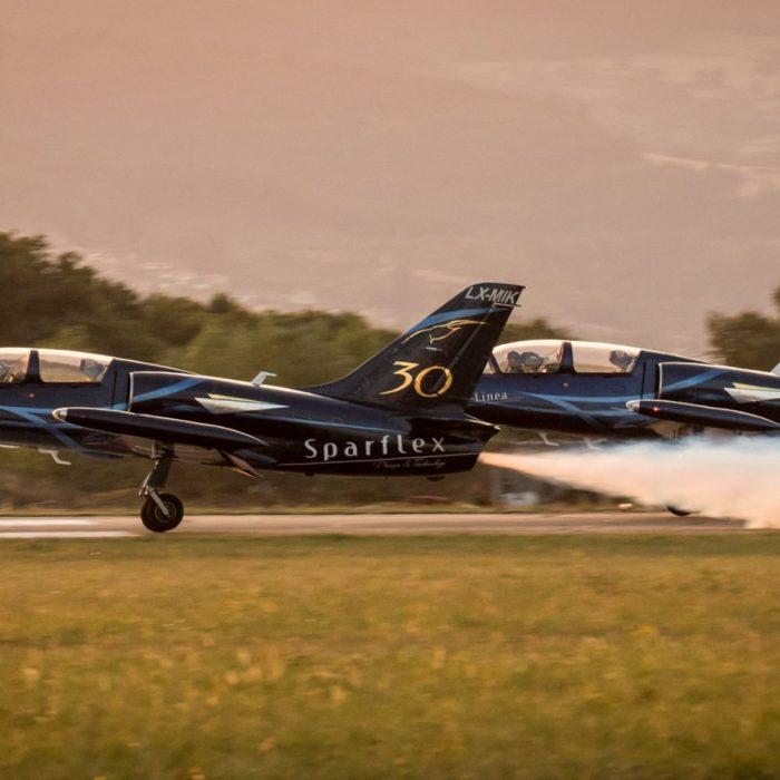 Figure aérienne L39 albatros - Team Sparflex - Fly and Fun