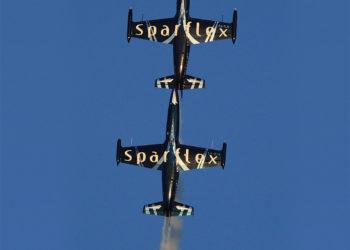 Patrouille Sparflex - figure aérienne - Fly and Fun